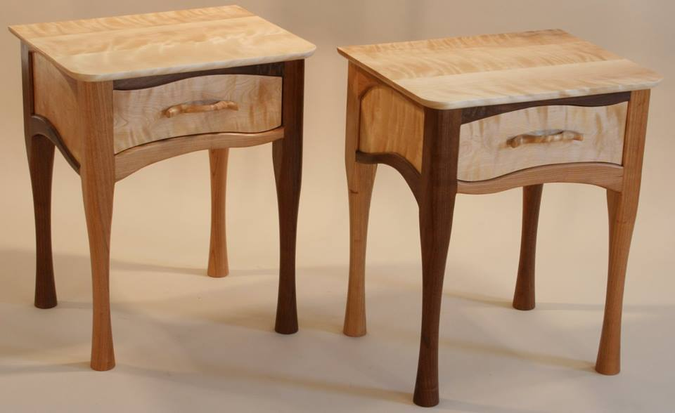 tables | west barnet wood works Matching Black Nightstands