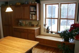 Cabinetry & Window Seat