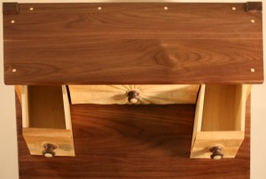 Hand-cut dovetailed